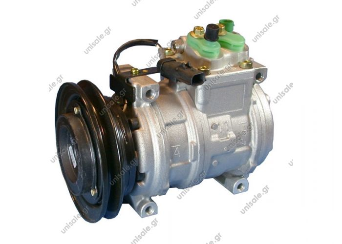 CHRYSLER : 5264732, 05278462AAD, 5278462AAA Compressor Denso complete  447100-2430 Compressor A / C Denso 10PA17C; 143 mm; A1; 12V; IN; Chrysler Voyager / Grand   CHRYSLER NEON De 95 à 97 CHRYSLER NEON De 97 à 99