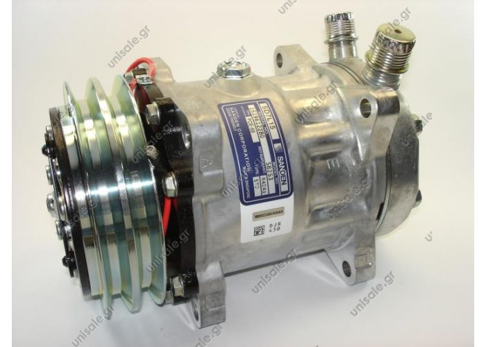 S8253  SANDEN SD7L15   R404A  12V  2A  ΚΟΜΠΡΕΣΕΡ  COMPRESSOR SANDEN SD7L15 2A 12V R134A / R404A