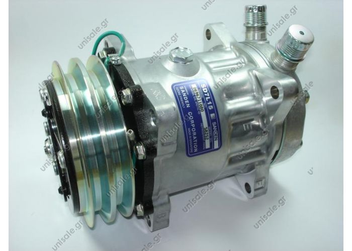 S8252  SANDEN  SD7L15  24V  2A  R404A  ΚΟΜΠΡΕΣΕΡ   COMPRESSOR SANDEN SD7L15 2A 24V R134A / R404A