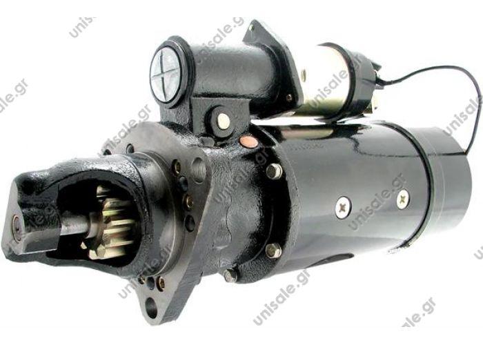 MIZA CATERPILLAR, FIAT-ALIS 11Δ  New Starter 10461062 10479151 1990393 6554   Delco, Caterpillar   11T 7.8kW 12V CW