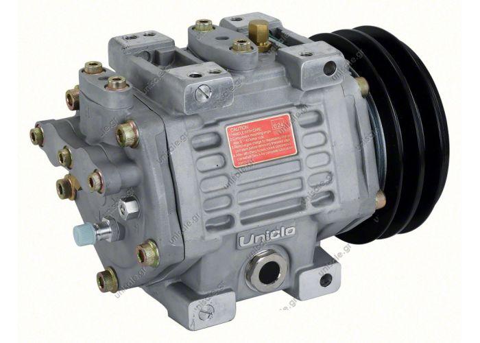 40435065  New Air Compressor Unicla UX 330  Volume: 335ccm   UX 330 24V 2 Gole  COMPRESSOR,UNICLA,UX330- 24V- mm 2-B, WITH ESTER OIL