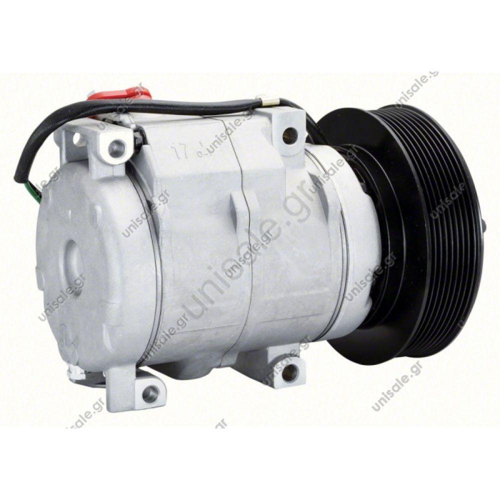 CATERPILLAR 3050324, DCP99800 Compressor A / C Denso 10S17C