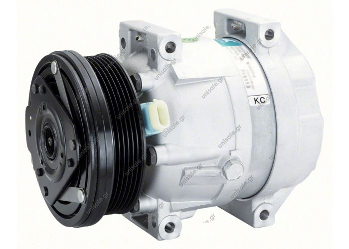 COMPRESSOR, HOLDEN EPICA DELPHI V5, 03/07-06/08 6 CYL 2.0i 131mm 6PV REAR PAD