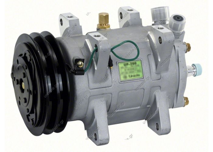 "40435069	50137 / F8010001580  UNICLA 	UP 200 24V 2 Grovves ""B"" Ø 145 mm  COMPRESSOR,UNICLA,UP200-4205 24V-145MM 2-A R134A VERT. O-RING (UPS112)"