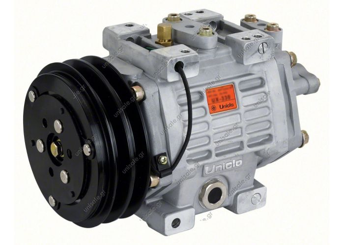 40435065 COMPRESSOR,UNICLA    UX 330 24V 2 Gole  COMPRESSOR,UNICLA,UX330- 24V- mm 2-B, WITH ESTER OIL