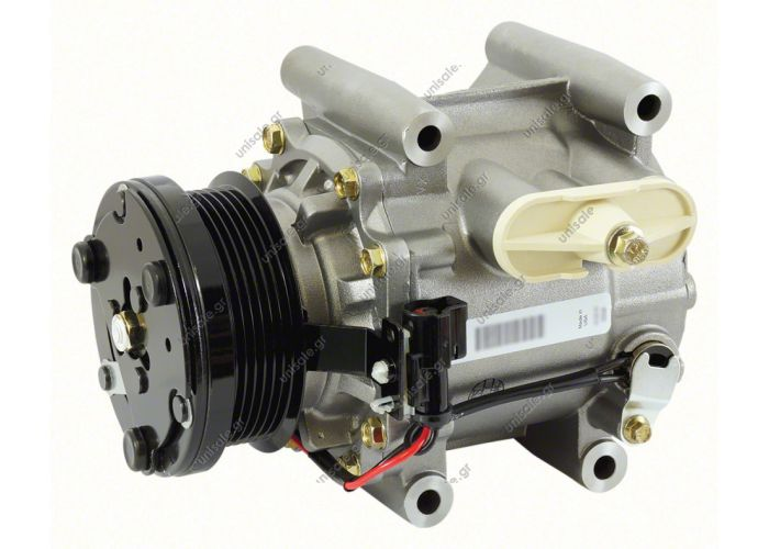 68133 (67133) COMPRESSOR NEW MAKE - MODEL JAGUAR - S-TYPE 3.0 C VISTEON SCROLL compressor, the pulley 97 mm - PV6, 12V, OEMC2S19412 / C2S47472 / XR82897 / XR89201, Jaguar S-Type 3.0 V6 10/98>