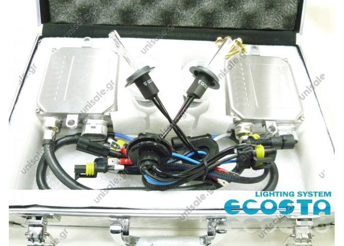 ECOSTA made HID kit H7-B Single / Short (6000K / 8000K)
