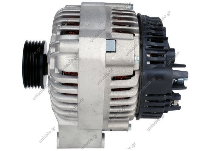 RML REF 100-109  VALEO A11VI89   Voltage / Power:	12V 90 Amp Pulley / Drive:	Pulley PV5x56 Product Type:	Alternator Product Application:	Citreon / Peugeot Replacing A13VI141 Lucas LRB395 LRB447 LRB206 Hella CA1243 CA1305 CA715 Citroen / Peugeot Various Mo