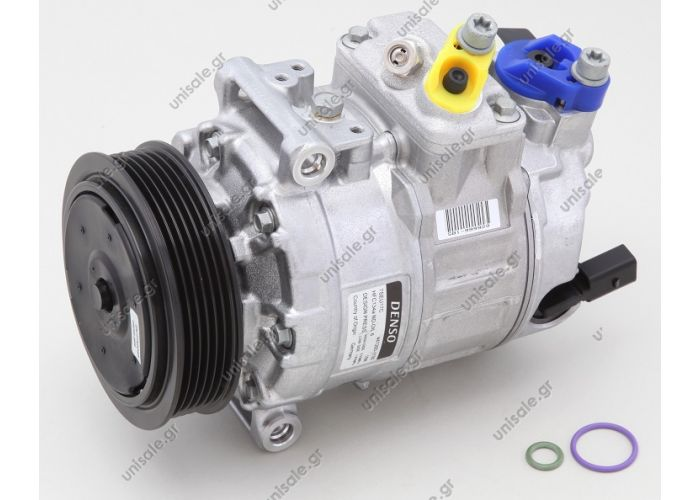 1K0820859C ΣΥΜΠΙΕΣΤΗΣ VW GOLF 5, AUDI A3     1K0-820-859S    DCP 32045 ΚΟΜΠΡΕΣΣΕΡ  A/C    40440103   COMPRESSOR DENSO COMPLETE       DCP32045  1K0820859C    Compressor Denso complete TYPE : 7SEU17C     1K0820859C   VW Golf V Series Sanden PXE14