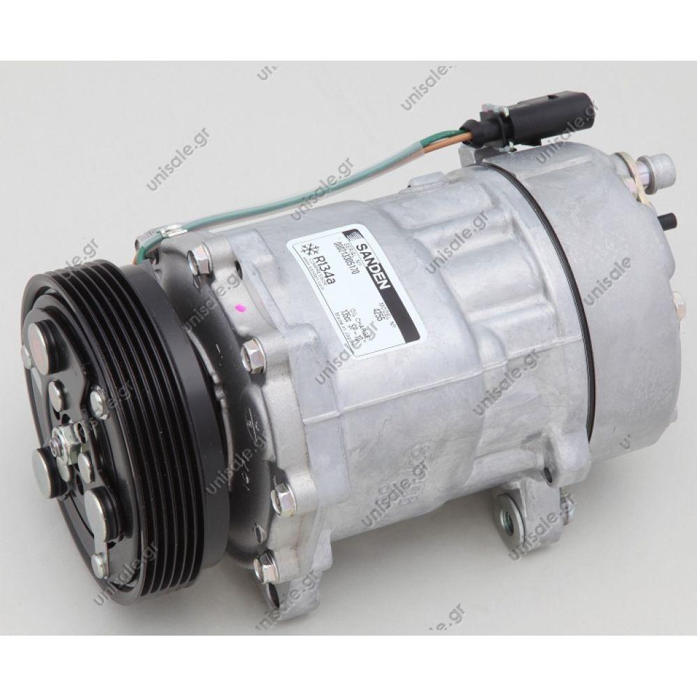 Volkswagen Kompresor Vw Polo Denso 40405094 A C 1j0820803a Compressors Bora Compressor Sanden Variable 1j0 820