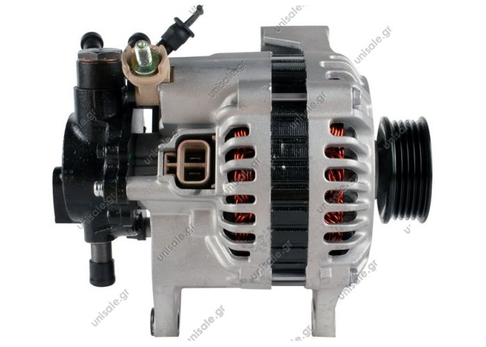 ΑΛΤENEIΤΟΡ MI 12V 70Α KIA,  373004X200 KIA  0K55218300B KIA Kia Sedona 1998-01 Alternator (A2150)  12V 85 Amp Pulley / Drive:	Clutch Pulley PV5 x 59.5 Product Type:	Alternator Product Application:	Kia Replacing O.E.M OK553-18-300 B Kia With Clutch Pulley