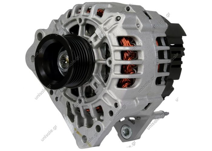 BOSCH 0124325013    ΑΛΤΕΝΕΙΤΟΡ   12V 90Α BOSCH SEAT\SKODA/VW (4ΑΥΤΙΑ)    BOSCH 0124315003 VALEO	SG8B011 	VW 028903028C , 030903023HSEAT,SKODA,VW Alternator SKODA Petrol 1999> 2008 SKODA FABIA  1999>2008  ALTERNATOR for VOLKSWAGEN POLO