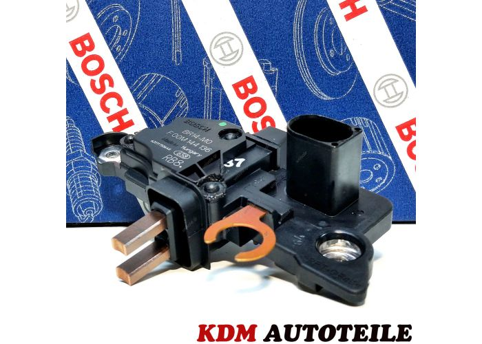 BOSCH F 00M 145 350 Regulator, alternator BOSCH ΡΥΘΜΙΣΤΉΣ ΓΕΝΝΉΤΡΙΑΣ Regulator, alternator for Audi, VW