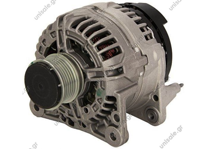 Bosch 0124325001 ΑΛΤΕΝΕΙΤΟΡ BOSCH 12V 90Α VAG DSL   ALTERNATORE VW Golf, Polo, Sharan AUDI A3    GOLF IV-90A  SEAT TOLEDO II Benzina 1999>2006     0124325001 AUDI + FORD + SEAT + SKODA + VW