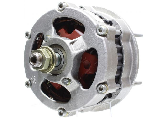 HATZ Alternator - Valeo style 12 volt, 55 amp Internal Regulator / External Fan Direct engine mount w/o pulley    3281742 LUCAS ELECTRICAL LRA01356, Alternator 28-1742: EXCHANGE ALTERNATOR 50A HATZ  VALEO 2541768 436496 A13N28 A13N281 A13N52