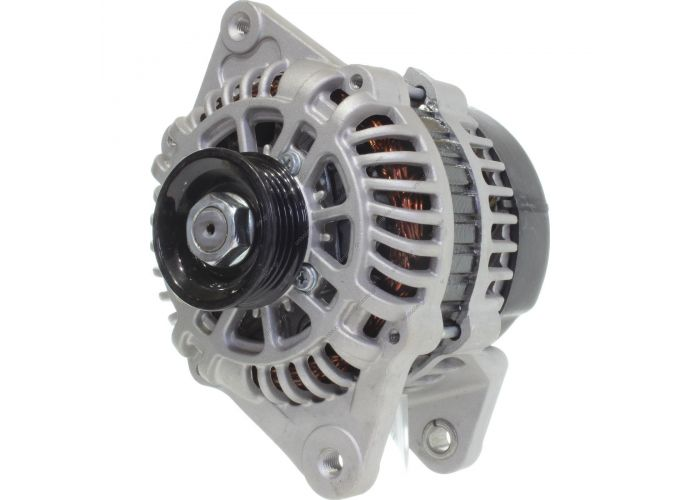 RML REF 100-362 Voltage / Power:	12V 110 Amp Pulley / Drive:	Pulley PV4 x 60 Product Type:	Alternator Product Application:	Kia Replacing AB180140 Lucas LRA2821 Hella JA1785 KIA Various Models