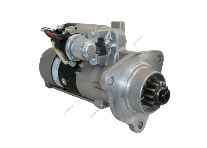 RML REF 200-942  Voltage / Power:	MITSUBISHI M9T61171    24V 5.5 KW Pulley / Drive:	Drive 12 Teeth Product Type:	Starter Motor Product Application:	Volvo Buses / Trucks Replacing M9T61171 Lucas LRS2274 Hella CS1388 Volvo Diesel Engines