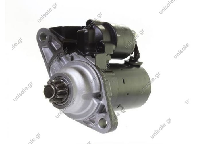 ΜΙΖΑ 12V 1KW 10Δ AUDI A2, SEAT IBIZA IV, VW FOX, GOLF IV, V, VI  SKODA VW POLO 9N FOX NEW BEETLE 1.2 1.4 16V   441263 0001120400 0001120401 0986020780, DRT0780 253131 LRS01610 944280207800, MSN2093 063521204000 02T911023G 02T911023D