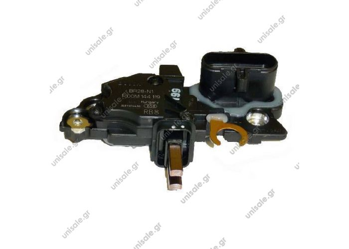 BOSCH F 00M 145 297 Regulator, alternator BOSCH: F00M145297    BOSCH ΡΥΘΜΙΣΤΉΣ ΓΕΝΝΉΤΡΙΑΣ  Regulator, alternator for DAF, Iveco, Mitsubishi
