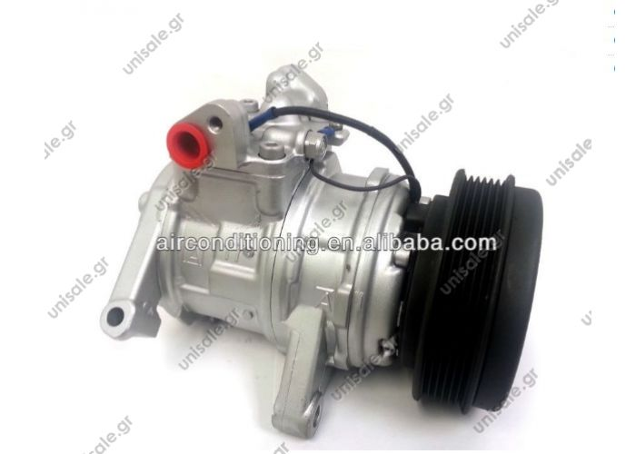10PA17E  DENSO auto ac compressor for Jeep Grand Cherokee 1999-2004 V8 4.7L Compressor ID: 10PA17E Number of Ribs: 6 New Part Belt Pulley Ø: 136 mm Voltage: 12 V Applicant: JEEP GRAND CHEROKEE OEM: 55115907AB/55116810AA/55116906AA