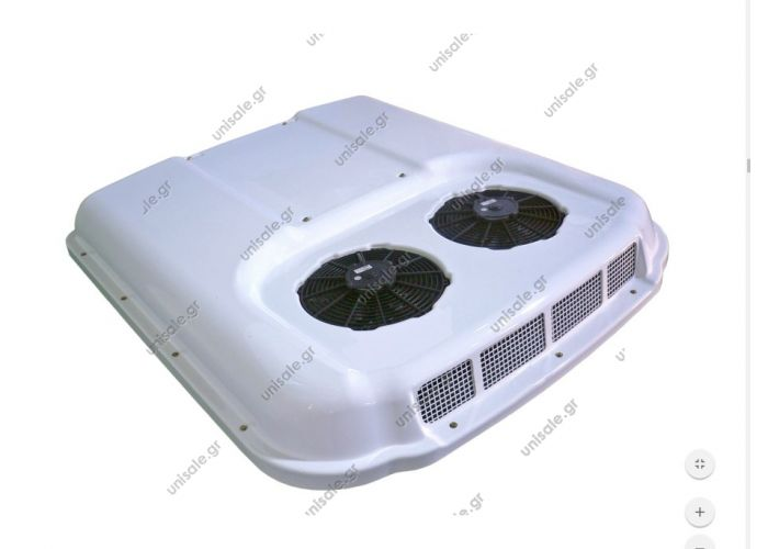 RT 145 ΜΟΝΑΔΑ ΨΥΞΗΣ ΟΡΟΦΗΣ RT 145 - 24V   RT145  Roof top unit technical leaflet Cod.10101086  Electric Absorption: 36 A Voltage: 24 V Weight: 152 Kg Coolant: R134