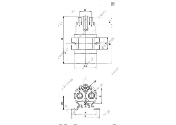 12v 300a high power relay high performance relay