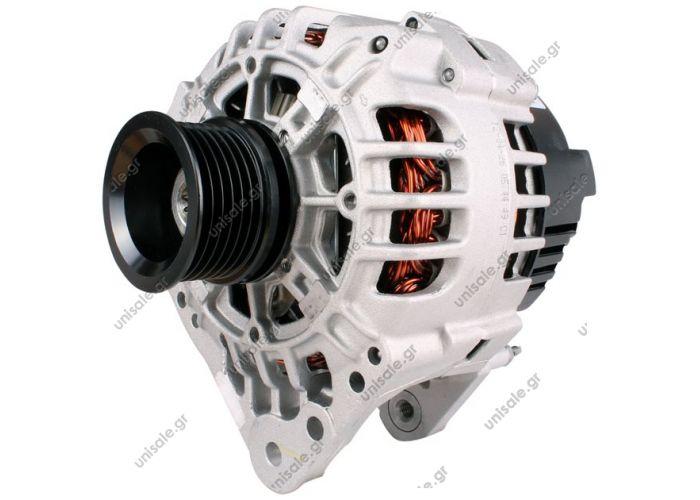 BOSCH   ΔΥΝΑΜΟ 12V 90 A SEAT,SKODA,VW BOSCH 0124325013   Alternator VW GOLF IV 1.4 1.6 1.8 1.9 2.0 16V 90 A Generator  ATLL41920 BOSCH0124325013 BOSCH0124325032 BOSCH0124325150 EUROTEC12041500 EUROTEC12041910   VALEOA13VI223 VALEOSG9B024