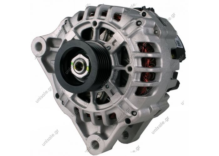 100-323 ΑΛΤΕΝΕΙΤΟΡ  VALEO 12V 70Α CITROEN C3, PEUGEOT 307 04- (4ΑΥΤΙΑ)     12V 90 Amp  Pulley PV6 x 45.5  Alternator  Citreon / Peugeot Frame Number:	FR17 Replacing SG9B064 Lucas LRA2303 LRA2842 Hella CA1687 CA1665 Citroen / Peugeot Various Models