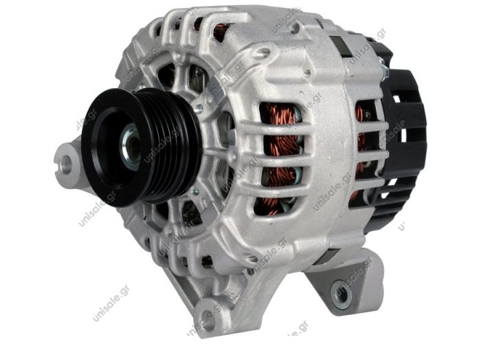 RML REF 100-134  Voltage / Power:12V 120 Amp Pulley / Drive:Pulley PV5 x 53.4 Product Type:Alternator Product Application:Landrover / Rover Frame Number:FR72 Replacing SG12B080 Lucas LRB470 YLE00260 YLE102020 Hella CA1631 Land Rover / Rover 75