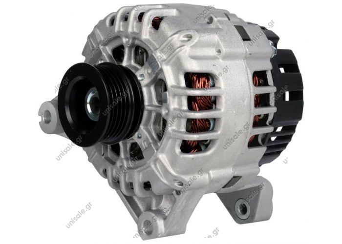 ΑΛΤΕΝΕΙΤΟΡ   VALEO437227, A13VI234, SG12B080  12V 120 Amp  PV5 x 53.4 Product Type:Alternator Product Application:Landrover / Rover Frame Number:FR72 Replacing SG12B080 Lucas LRB470 YLE00260 YLE102020 Hella CA1631 Land Rover / Rover 75