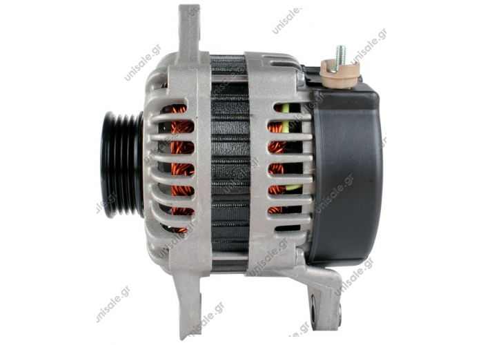 RML REF 100-365 VALEO AB170035   KIA Sportage 2.0 1994 1999 ALTERNATOR     Voltage / Power:	12V 70 Amp Pulley / Drive:	Pulley PV4 x 60 Product Type:	Alternator Product Application:	Kia Replacing AB170035 Lucas LRA1714 Hella JA1537 KIA Various Models