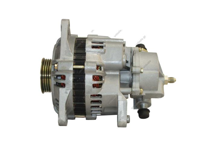 100-009  ΑΛΤΕΝΕΙΤΟΡ MI 12V 100Α FORD TRANZIT 2.5Di 94-00 ΑΝΤΛΙΑ Voltage / Power:	12V 95 Amp Pulley / Drive:	Pulley PV4 x 60.5 Product Type:	Alternator Product Application:	Ford / Jaguar / Mazda Replacing A3TN1791 Lucas LRB381 Hella CA1317 Ford Transit