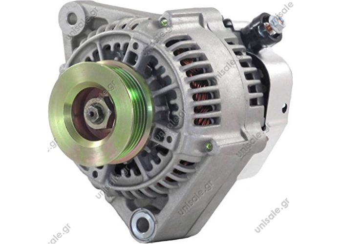 RML REF 100-372 Voltage / Power:	12V 90 Amp Pulley / Drive:	Pulley PV5x69 Product Type:	Alternator Product Application:	Honda Replacing 100211-8190 Lucas LRA1992 O.E.M 31100-PT20132 Honda Various Models