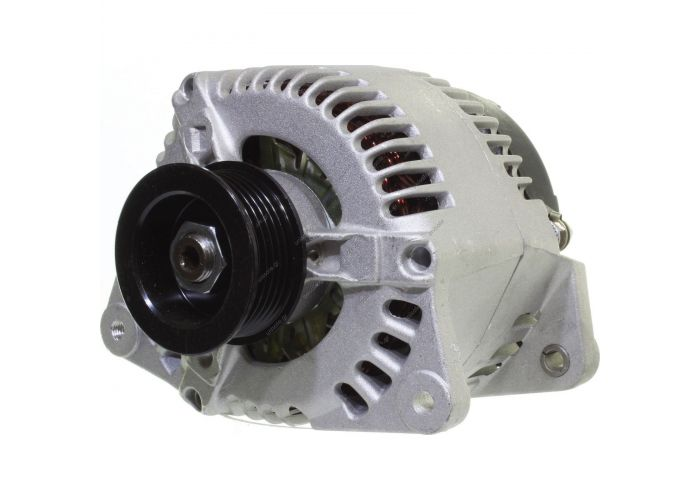 RML REF 100-053 Voltage / Power:12V 100 Amp Pulley / Drive:Pulley PV6 x 60 Product Type:Alternator Product Application:Ford / Jaguar / Mazda Frame Number:FR6 Replacing 63341344 Lucas LRB287 LRB288 Hella CA1085 Ford Scorpio