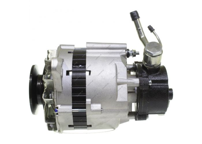 100-014  ΑΛΤ/ΤΟΡ MI 12V 65Α MITSUBISHI L300 1V  +5  ΑΝΤΛΙΑ 12V 65 Amp Pulley / Drive:	Pulley 12.5 x 75 Product Type:	Alternator Product Application:	Mitsubishi / Hyundai   Replacing A2T27883 Lucas LRB225 Hella JA674 Mitsubishi L300 - Pajero Shogun