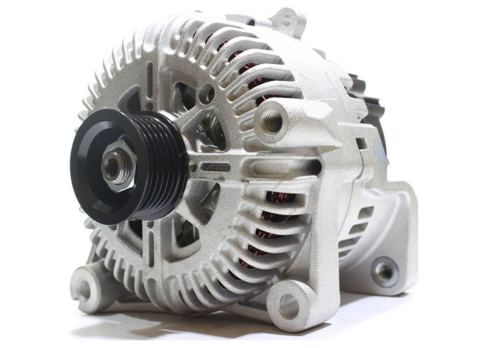 439566, VALEO   ΔΥΝΑΜΟ BMW 	12V 180 Amp Pulley / Drive:	Pulley PV6 x 50.5 Product Type:	Alternator Product Application:	BMW Replacing TG17C035 Lucas LRA3023 Valeo 2543221D BMW-Land Rover    TG17C035 439566 TG17C021 TG17C021B