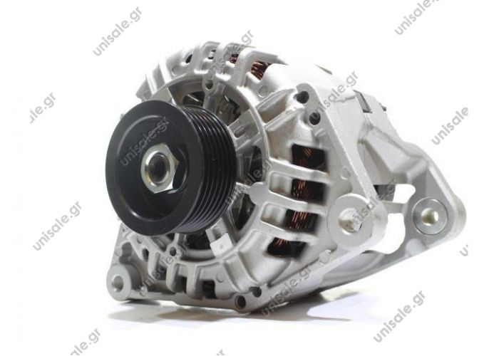 RML REF 100-250 Voltage / Power:	12V 140 Amp Pulley / Drive:	Pulley PV6 x 64.5 Product Type:	Alternator Product Application:	Audi / VW / Seat / Skoda Frame Number:	FR11 Replacing SG14B013 Lucas LRA1975 Hella CA1746 Audi / VW Various Models