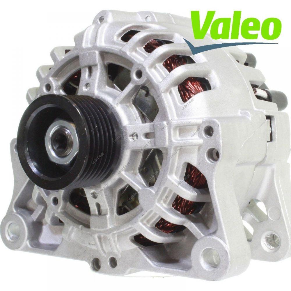 VALEO Original Lichtmaschine 12V 80A CITROEN C2 C3 C4 1.1 1.4 1.6 i VTS 16V
