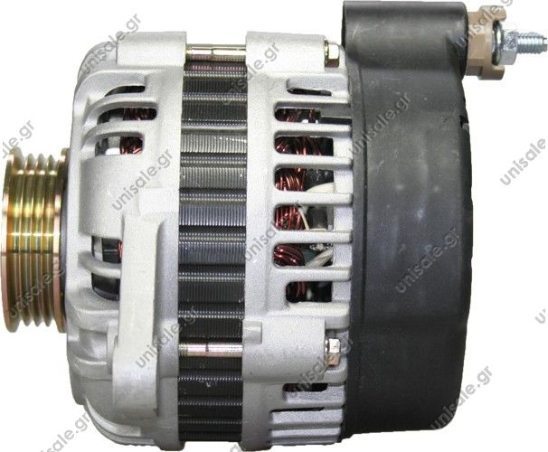 100-310   ΑΛΤENEIΤΟΡ MI 12V 100Α MITSUBISHI PAJERO II 99- (4ΦΙΣ \GSLF)  Pulley PV4 x 60 Product Type:	Alternator Product Application:	Mitsubishi / Hyundai Replacing A3TA5491 LRA1939 LRA1908 LRA1676 LRA1628 JA1522 JA1531 JA1523 Mitsubishi Various Models