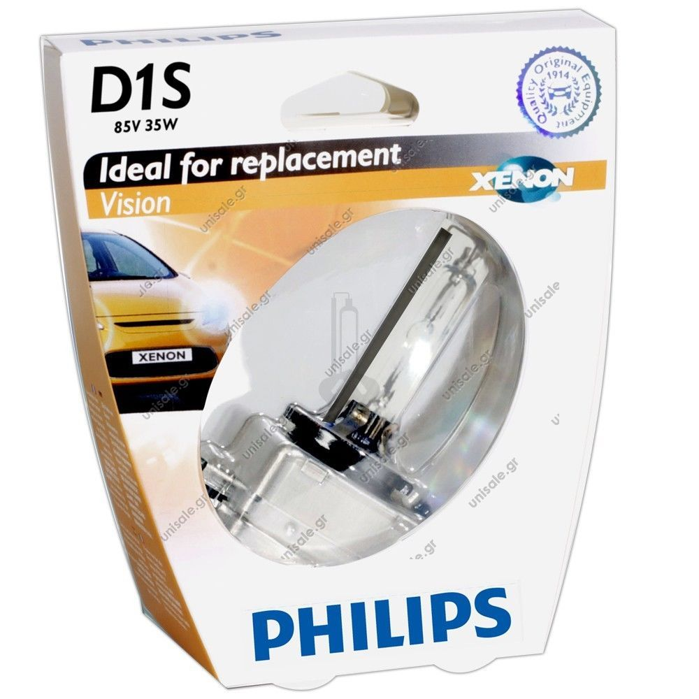 philips d1s 85415vi xenstart vision xenon brenner 35w neu. Black Bedroom Furniture Sets. Home Design Ideas