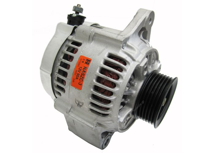 RML REF 100-231SUZUKI 31400-77E11    Voltage / Power:	12V 85 Amp Pulley / Drive:	Pulley PV4 x 54.5 Product Type:	Alternator Product Application:	Suzuki Frame Number:	FR25 Replacing 102211-1430 Lucas LRA2058 O.E.M 31400-77E11 Suzuki Various Models