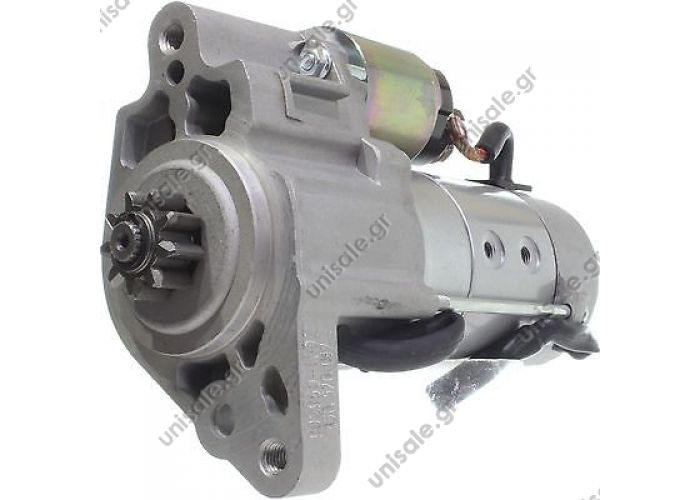 30791 DENSO  Starter LAND ROVER z9 d 34.9 CCW 3(2) @ Starter Motor 2.0kW LAND ROVER Discovery III IV Range Rover Sport 2.7 TD TDVM Diesel 4280001940 4280001941 4280004880, DSN944 NAD500080 NAD500080E NAD500330