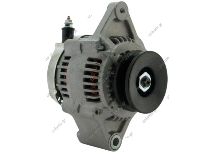 25674 ΑΛΤΕΝΕΙΤΟΡ TOYOTA FORK LIFT    TOYOTA 12V 50A [S-IG-L] @ Alternator - Denso style 12 volt, 50 amps Internal Regulator / Internal Fan 1 groove pulley 1012118580, 101211-8580, 270607815671, 27060-78156-71