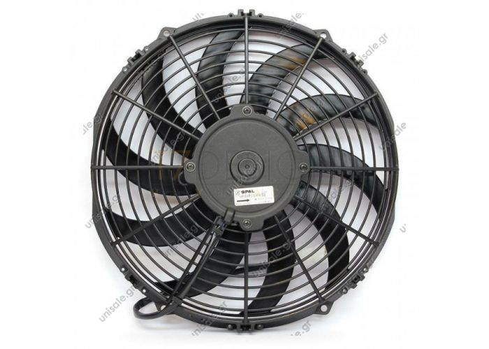 SPAL-BOSCH 0599.1908 30315048  Ø 330 mm Blowing VA13-AP9/C-35S  UNIVERSAL 330 MM FAN / 12V SPAL VA13-AP9 / C-35S 12V