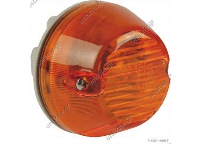 Turn signal lamp, lateral Art. No. 3.31052   81.25320-6115 MAN Blinker seitlich re + li orange, passend für MAN TGA TGM TGL L2000 M2000 OE Vergleichs Nr.: 81.25320-6101, 83700175  MAN  81.25320-6115