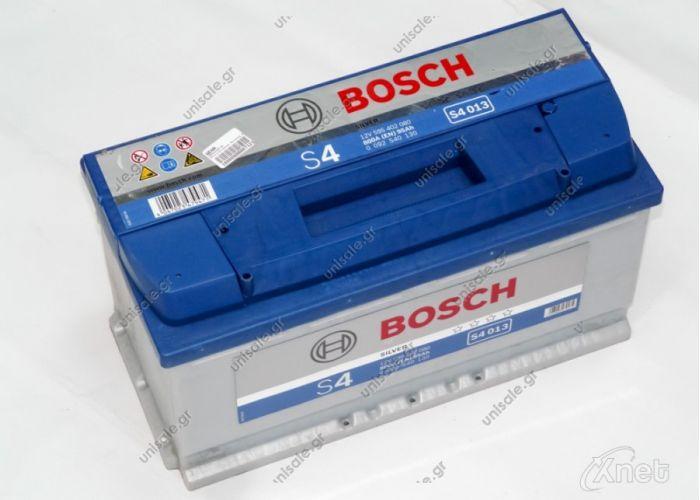0 092 S40 130 ΜΠΑΤΑΡΙΑ S4 95Αh/800A ΔΕΞ. Κωδικός Προϊόντος : 0092S40130 ΜΠΑΤΑΡΙΑ S4 95Αh/800A ΔΕΞΙΟ   Μπαταρία Αυτοκινήτου Bosch S5004 Κλειστού Τύπου 61Ah-600A