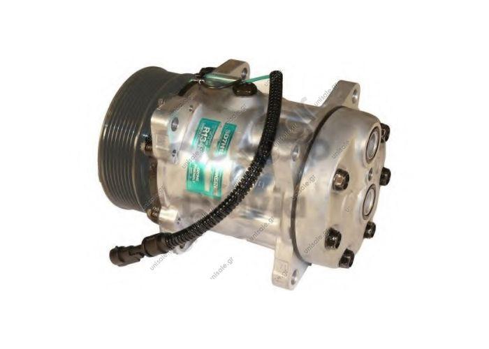 ΣΥΜΠΙΕΣΤΗΣ SANDEN  FIX R134A SD7H15  Compressor Sanden Fix R134a SD7H15  DAF XF  8120 Compressor A / C Sanden SD7H15; 119 mm; PV8; 24V; H; Daf 95    DAF : 1387322  DAF95-XF 920.20090 OE: 1387322 - 1405137 - 1655564 - 1816774 - 8120 - 8129