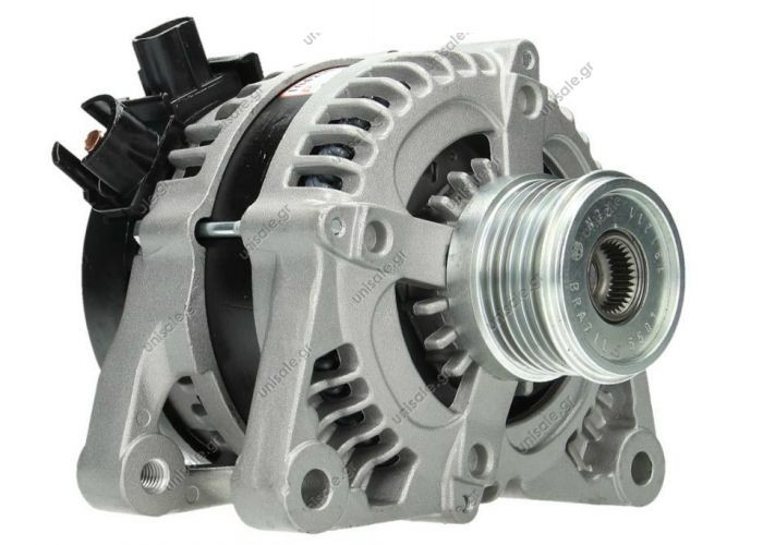RML REF 100-267 DAN930     Voltage / Power:	12V 150 Amp Pulley / Drive:	Clutch Pulley PV6 X 54 Product Type:	Alternator Product Application:	Ford / Jaguar / Mazda Replacing 2S6T-10300-BB Lucas LRA2332 Hella CA1778 Ford Mazda Various Models