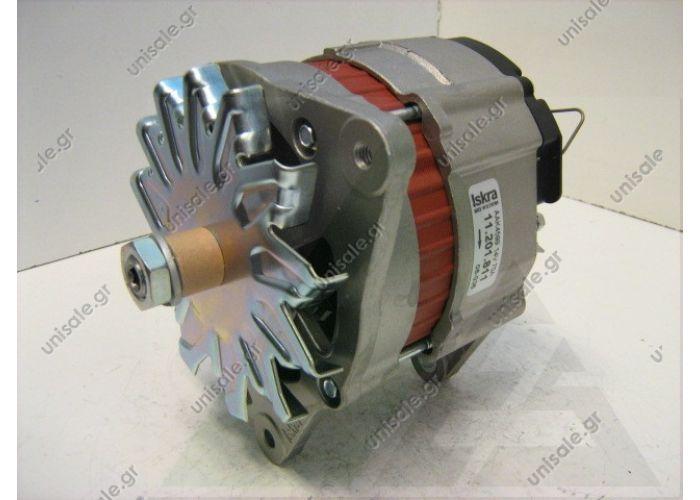 19420 LETRIKA (ISKRA)  Alternator FORD 12V 70A 6H10 S/P Plugs @14V 70A (IA0811, MG216)    11,201,811 AAK4599 MAHLE letrik (Iskra) alternator    IA0811 Alternator Mahle/Iskra MG216 12V - 70A Ford B/ST 10o6
