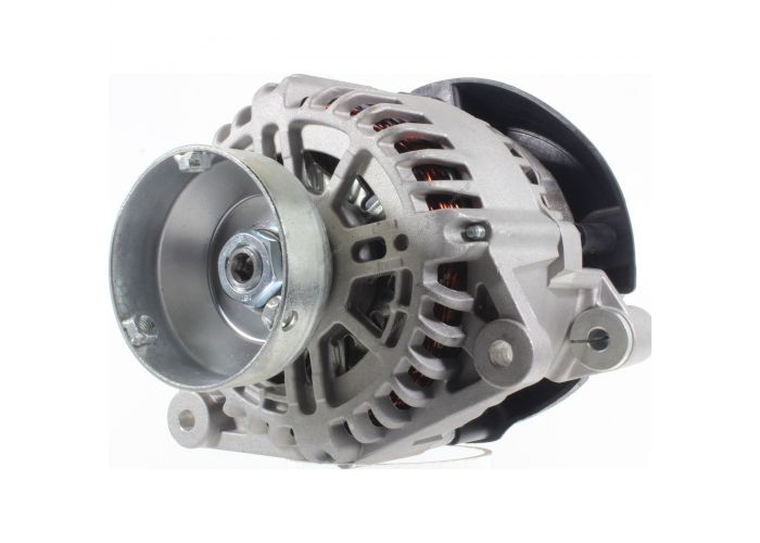 RML REF 100-344 Voltage / Power:	12V 124 Amp Pulley / Drive:	Pulley PV6 x 48 Product Type:	Alternator Product Application:	Ford / Jaguar / Mazda Frame Number:	FR20 Replacing 2T1U-10300-BB,BC,BD Lucas LRA2853 Hella CA1857 * Ford Transit Connect